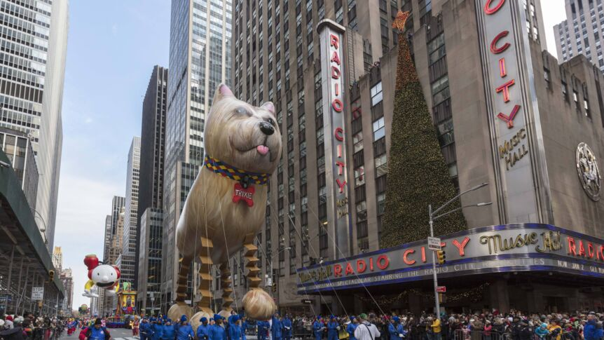 "Ein Highlight im November: Die ""Macy's Thanksgiving Day Parade"" in New York."