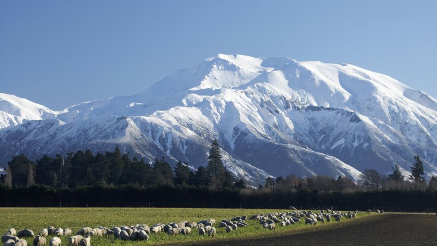 Mount Hutt in Neuseeland.