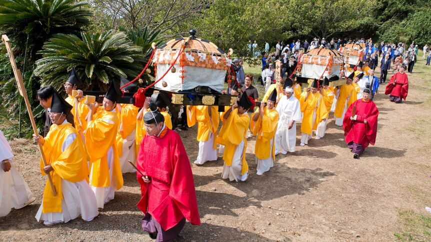 Sacred Island of Okinoshima and Associated Sites in the Munakata Region: Miare Festival (land procession)World Heritage Promotion Committee