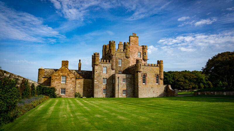 Das Castle of Mey in Schottland.
