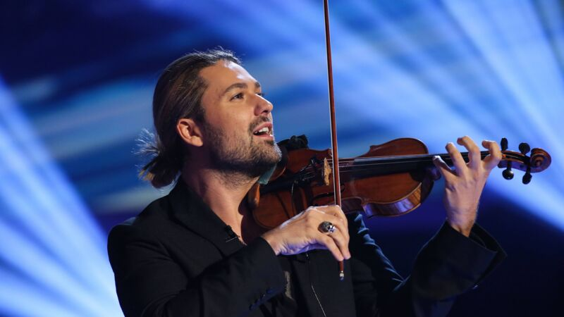 Cross-Over statt Klassik: David Garrett interpretiert klassische Violinenmusik neu.