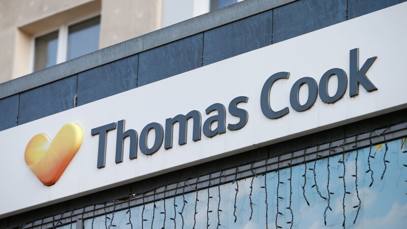 Thomas-Cook-Filliale. (Symbolbild)