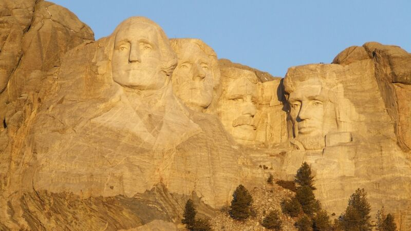 Mount Rushmore National Memorial in den USA