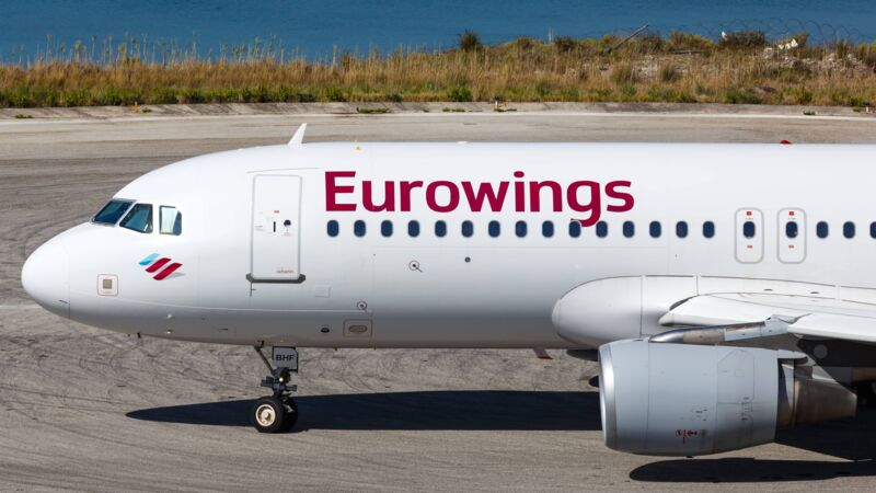 A320 von Eurowings.