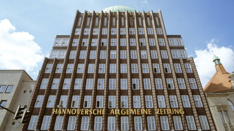 Anzeiger-Hochhaus in Hannover