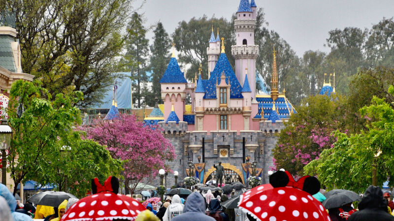 Anaheim, Kalifornien, USA: Disneyland in Anaheim.