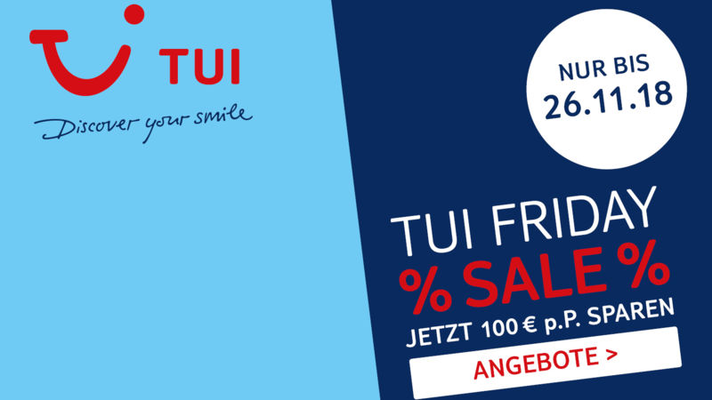 Tui Friday Sale