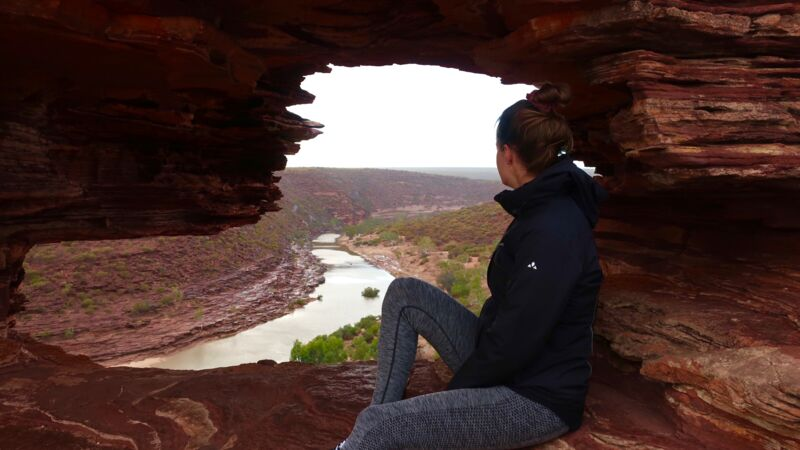 Das Nature's Window im Kalbarri-Nationalpark.